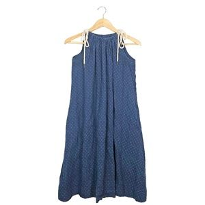 {Madewell} Light Weight Rope Tie Smock Dress, XL